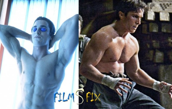 Acteur Physique Christian Bale Batman Muscle Norma 580x367