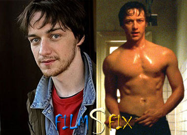 Acteur Physique James McAvoy Wanted Muscle Normal