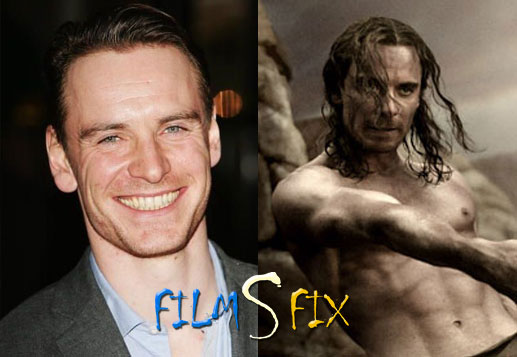 Acteur Physique Michael Fassbender 300 Muscle Normal