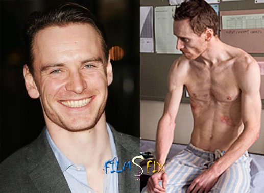 Acteur Physique Michael Fassbender The Hunger Maigre Normal