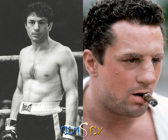 Acteur Physique Robert De Niro Raging Bull Normal Gros