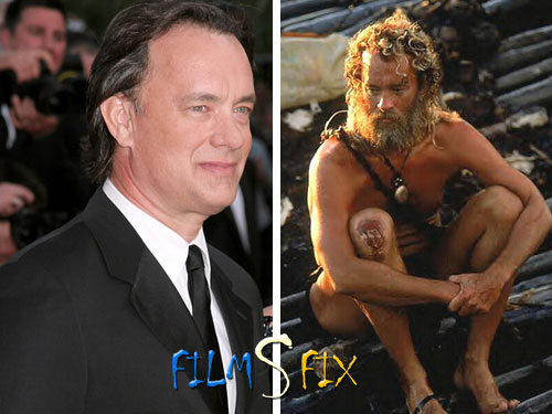 Acteur Physique Tom Hanks Seul Au Monde Normal Gros