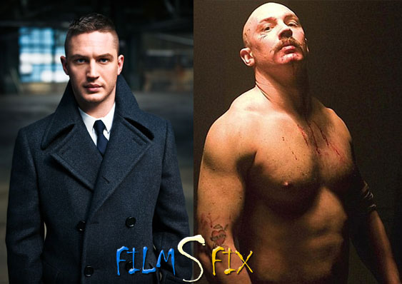 Acteur Physique Tom Hardy Bronson Normal Muscle