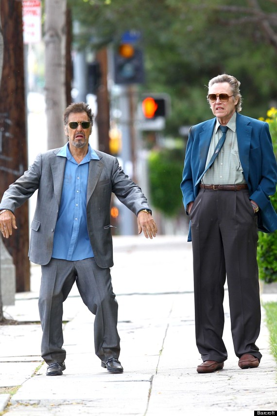 Al Pacino Et Christopher Walken