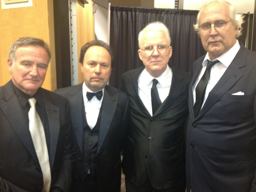 Robin Williams, Billy Crystal, Steve Martin Et Chevy Chase
