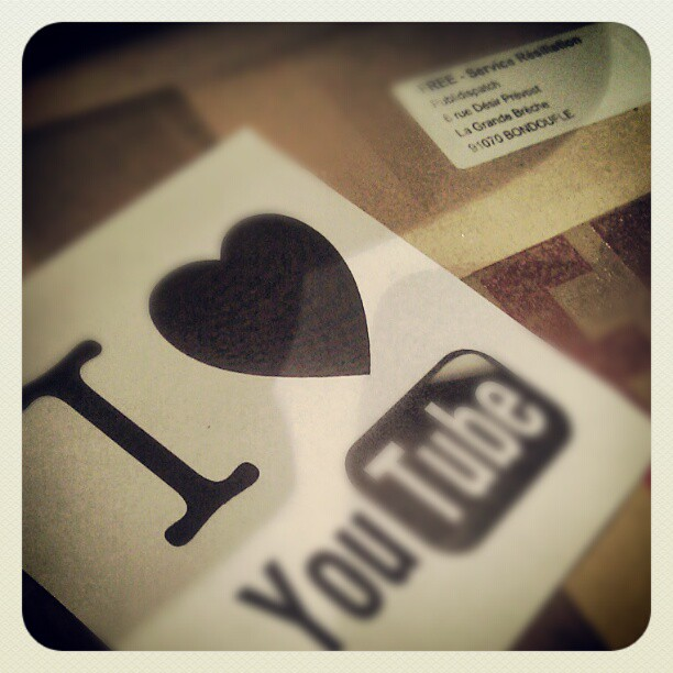 Free I Love Youtube  1