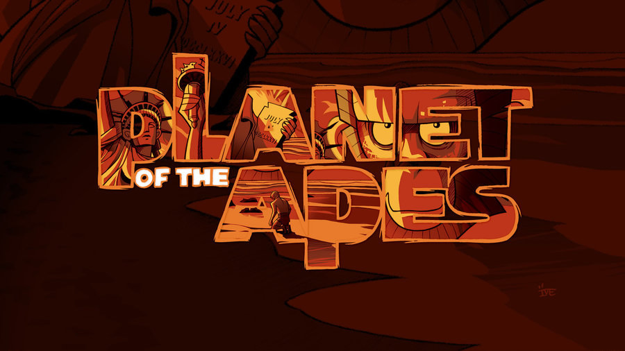 Planet Of The Apes  Wallpaper  By Twiggylizard D58dm28