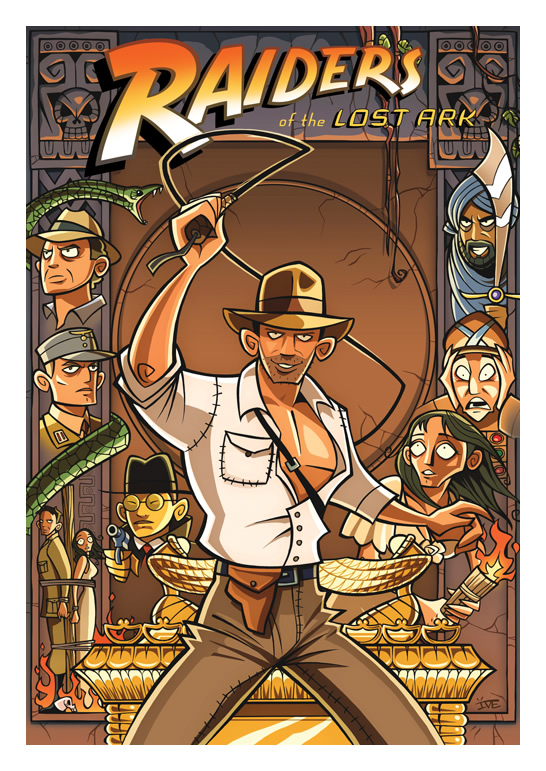 Raiders Of The Lost Ark  Cinemarium  By Inkjava D58hudg
