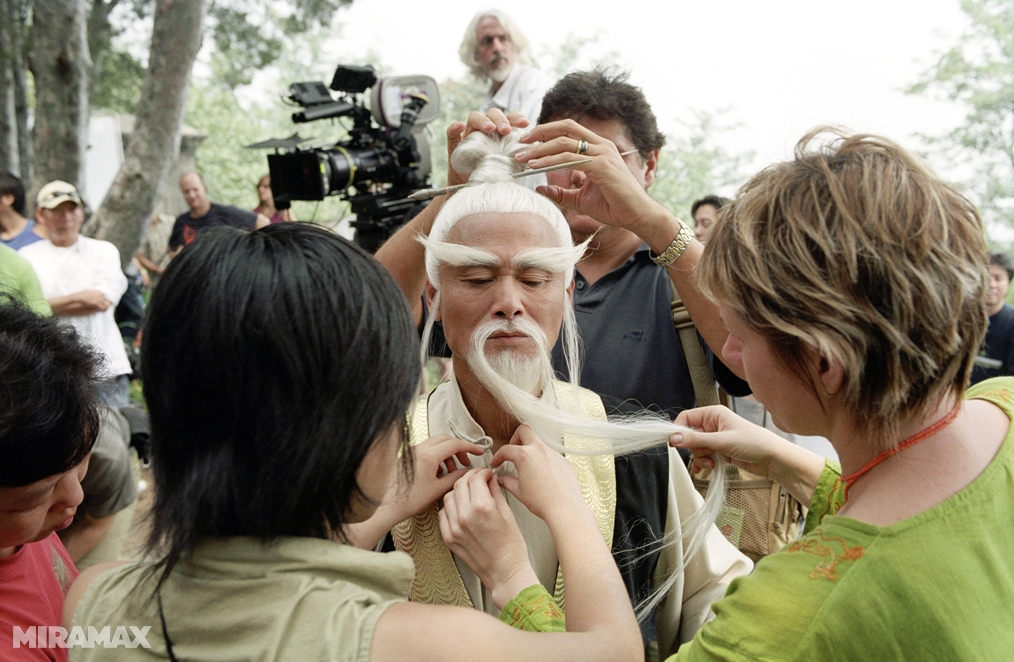 Kill Bill 2 Backstage  1