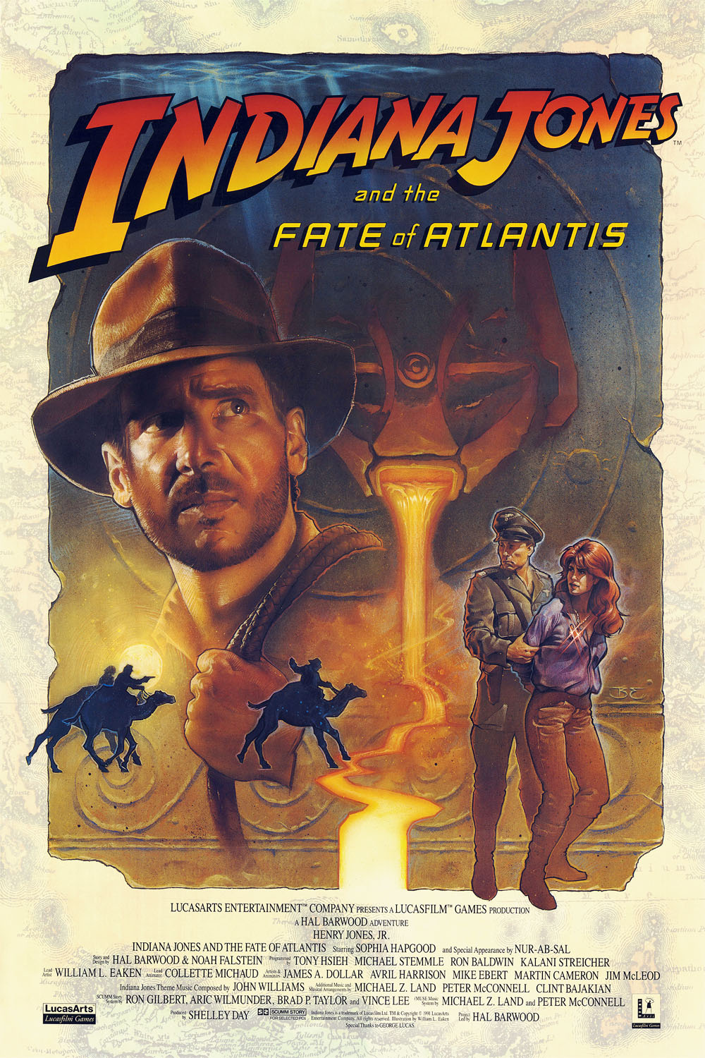 Indiana Jones Fate Atlantis