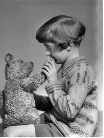 Le veritable Winnie l'Ourson et Christopher Robin, 1928