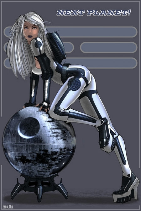 Star Wars Girl 3